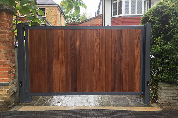 Steel Timber Clad
