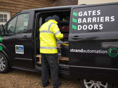strand automation van - gate servicing
