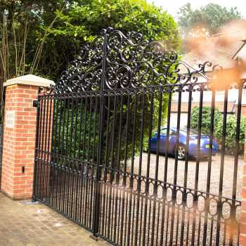Wrought Iron & Decorative Steel Gates